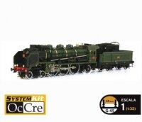 Baukasten Lokomotive Paciffic 231 von Occre Maßstab...