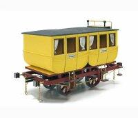 Baukasten Eisenbahnwagen Adler (3 Modelle) von OcCre...