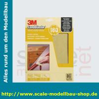 3M SandBlaster Hochleistungsschleifpapier fein P180