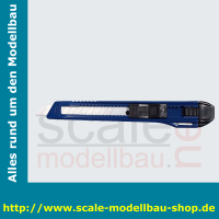 WEDO Cutter Ecoline, Klinge: 9 mm, blau/schwarz