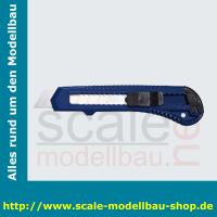 WEDO Cutter Ecoline, Klinge: 18 mm, blau/schwarz
