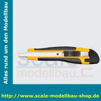 WEDO Allround-Cutter, Klinge: 9 mm, schwarz/gelb