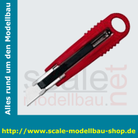 WEDO Safety-Cutter Standard, Klinge: 18 mm, rot/schwarz