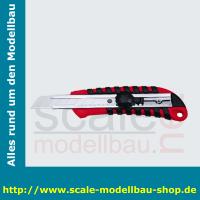 WEDO Profi-Cutter, Klinge: 18 mm, rot/schwarz