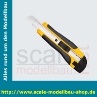 WEDO Allround-Cutter, Klinge: 18 mm, schwarz/gelb