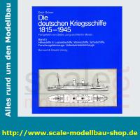 Die deutschen Kriegschiffe 1815-1945: Bd.5 -...