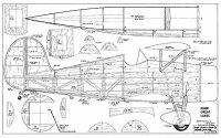 Bauplan Great Lakes Krier 1/4 Spannweite 2030mm