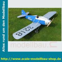 Bauplan Ford Flivver Spannweite ca. 1270 mm