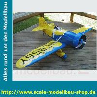 Bauplan Gee Bee Modell Y Spannweite ca. 1830 mm