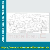 Bauplan Chance Vought F4U Corsair Klappflügel...