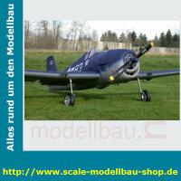 Bauplan Grumman F6F Hellcat Spannweite ca. 2438 mm