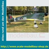 Bauplan Hawker Typhoon Spannweite ca. 2464 mm
