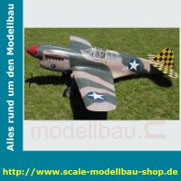 Bauplan Curtiss P40E Kittyhawk Spannweite 1676 mm