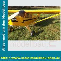 Bauplan Piper J-3 Cub Spannweite ca. 3581mm