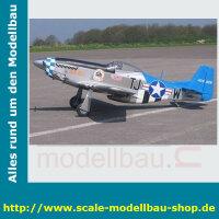 Bauplan Nort American P-51 Mustang Spannweite ca. 2489 mm