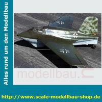 Bauplan Messerschmitt ME-163B-1A Spannweite ca. 2110 mm