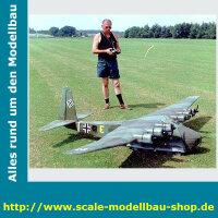 Bauplan Messerschmitt ME-323 Gigant Spannweite ca. 3170 mm