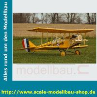Bauplan Curtiss JN-4D Jenny Spannweite ca. 2540 mm