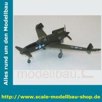 Bauplan Curtiss-Wright XP-55 Spannweite ca. 1600 mm