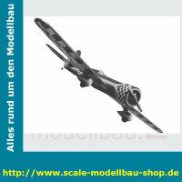 Bauplan Dee-Bee Rennflugzeug Spannweite ca. 1727 mm