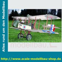 Bauplan De Havilland Airco D.H. 2 Spannweite ca. 1524 mm