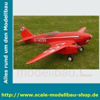 Bauplan de Havilland D.H.-88 Spannweite ca. 2413 mm