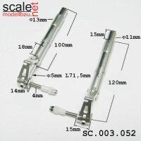 ScaleMod gefederte Fahrwerksbeine 2-Bein 120 mm