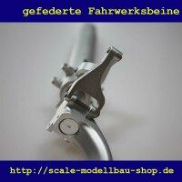 ScaleMod gefederte Fahrwerksbeine P51 2-Bein Kit 186 mm
