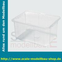 Aufbewahrungsbox 6l 300 x 200 x 165 mm PP durchsichtig