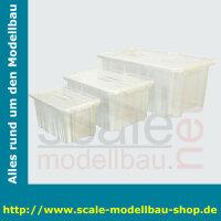 Aufbewahrungsbox 45l 600 x 400 x 260 mm PP durchsichtig