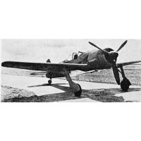 Bauplan VTH Focke Wulf FW190 A-3 Peter Kriz 1976 Spw. 1520mm