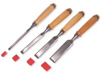 Stechbeitelsatz mit Holzgriff