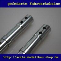 ScaleMod gefederte Fahrwerksbeine 2-Bein 190mm (für Räder max 115mm)