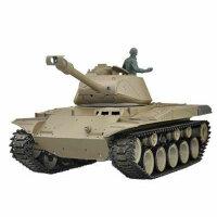 Panzer 1:16  U.S. M41 Bulldog  - 2,4GHz Rauch- &...