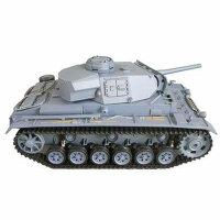 Panzer 1:16  Panzerkampfwagen III  - 2,4GHz Rauch- &...
