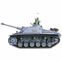 Panzer 1:16  Sturmgeschütz III   - 2,4GHz Rauch-...