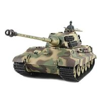 Panzer 1:16  Königstiger mit Henschelturm  - 2,4GHz...