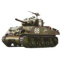 Panzer 1:16  U.S. M4A3 Sherman - 2,4GHz Rauch- &...