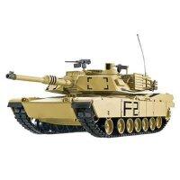 Panzer 1:16  U.S. M1A2  - 2,4GHz Rauch- & Sound,...