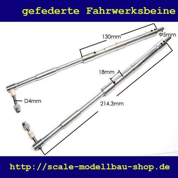 ScaleMod gefederte Fahrwerksbeine 2-Bein Kit 214 mm