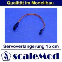 scaleMod Servoverlängerung 26AWG 15cm (5 Stk)