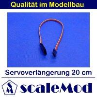 scaleMod Servoverlängerung 26AWG 20cm (5 Stk)