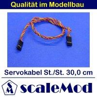 scaleMod Servokabel JR Stecker/Stecker 22AWG Twisted 30cm...