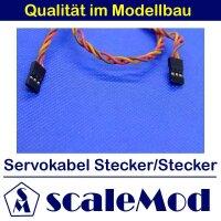 scaleMod Servokabel JR Stecker/Stecker 22AWG Twisted 90cm...