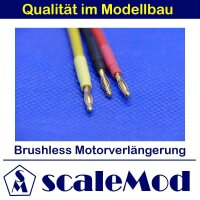 scaleMod Brushless Motorkabelverlängerung 16AWG 2,0...