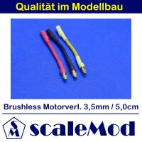 scaleMod Brushless Motorkabelverlängerung 16AWG 3,5...