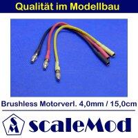 scaleMod Brushless Motorkabelverlängerung 16AWG 4,0...