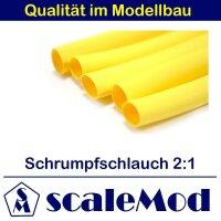 scaleMod Schrumpfschlauch 2:1  4,0 mm gelb 5 m