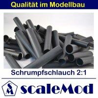 scaleMod Schrumpfschlauch 2:1  10,0 mm schwarz 5 m