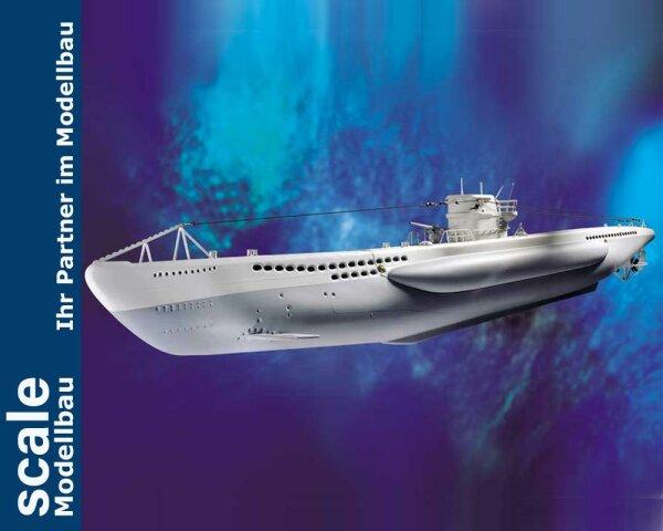 Krick Baukasten U-Boot Typ VII (Grundbaukasten)